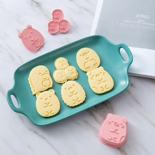 すみっこぐらしクッキー型6種類セット(調理道具/製菓道具)