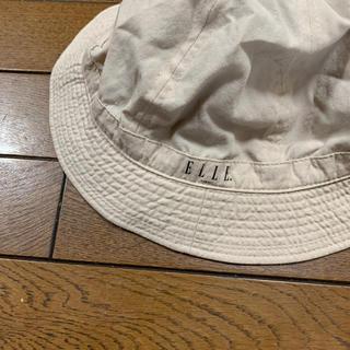 エル(ELLE)のエルのリバーシブル帽子(帽子)