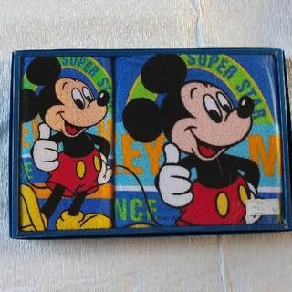 ディズニー(Disney)のミッキー タオルセット 2組(タオル/バス用品)