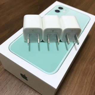 Apple - iPhone付属 USBアダプター Apple 充電器 3個