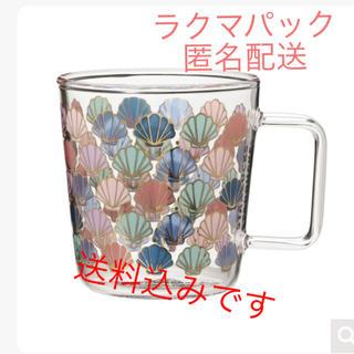 Starbucks Coffee - 新品未使用 スタバ グラスマグ ゴールドシェル 355ml  スターバックス