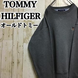 トミーヒルフィガー(TOMMY HILFIGER)の【トミーヒルフィガー】【ワンポイント】【ロゴ刺繍】【スウェット】(スウェット)