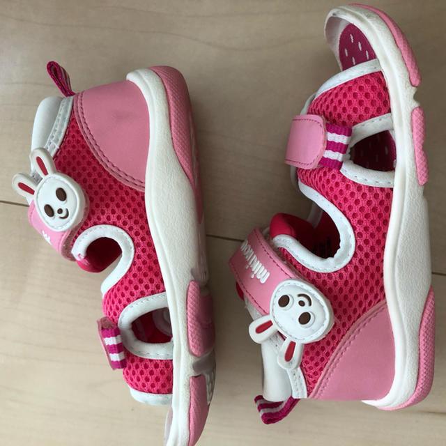 mikihouse(ミキハウス)のミキハウス サンダル 14.5cm キッズ/ベビー/マタニティのキッズ靴/シューズ(15cm~)(サンダル)の商品写真