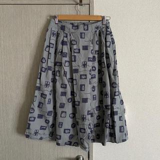 シャンブルドゥシャーム(chambre de charme)のchambre de charme 記憶の中の美術館スカート(ロングスカート)