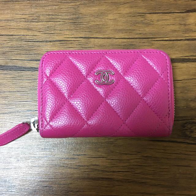 CHANEL(シャネル)のCHANEL財布 コインケース ピンク レディースのファッション小物(コインケース)の商品写真
