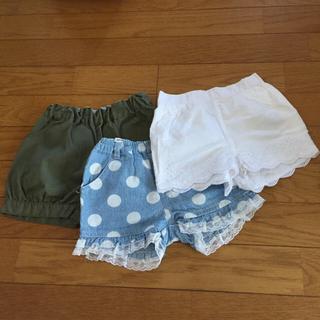 ベビーギャップ(babyGAP)のショートパンツ 3枚セット ベビーギャップ含む(パンツ)