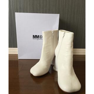Maison Martin Margiela - 美品 MM6 Maison Margiela マルジェラ カップ ブーツ 40