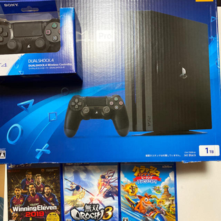 PlayStation4 - PS4 pro 1TB コントローラー ソフト