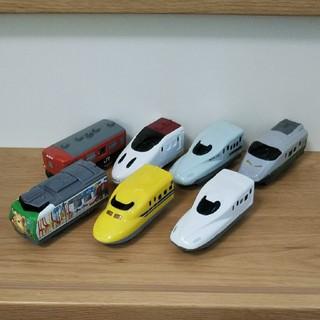 マクドナルド(マクドナルド)のハッピーセット プラレール7両(電車のおもちゃ/車)