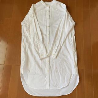 ムジルシリョウヒン(MUJI (無印良品))の美品!お買い得!MUJIスタンドカラーシャツ(シャツ/ブラウス(長袖/七分))