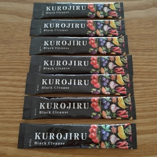 ファビウス(FABIUS)のKUROJIRU クロジル 黒汁 お試し7本セット(ダイエット食品)