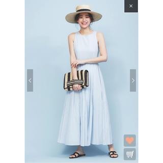 Noble - マリハ  MARIHA 夏のレディのドレス  ブルーグレー 38