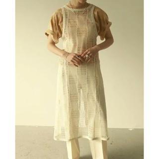 TODAYFUL - TODAYFUL Mesh Apron Dress メッシュエプロンドレス