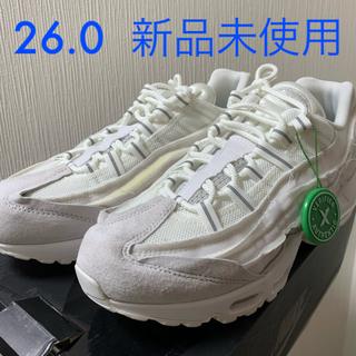 コムデギャルソン(COMME des GARCONS)のComme des Garcons x Nike Air Max 95 白(スニーカー)