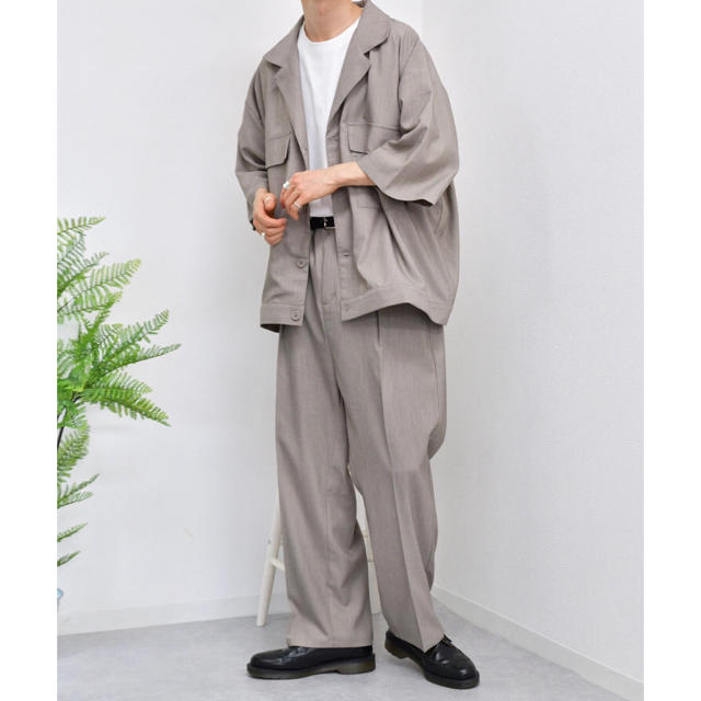 kutir セットアップ パープル ブルー ベージュ メンズのスーツ(セットアップ)の商品写真