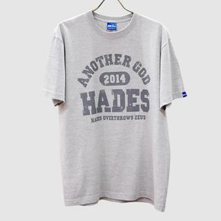 [終売]【半袖】ANOTHER GOD HADES-杢グレー tシャツ