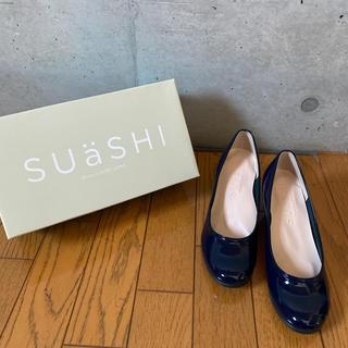 SUASHI/パンプス/ネイビー/23cm(ハイヒール/パンプス)