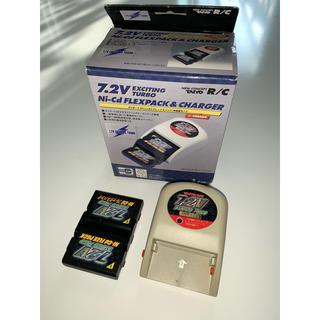 タイヨー 7.2V フレックス パックセット  中古 箱付き 充電器セット(トイラジコン)