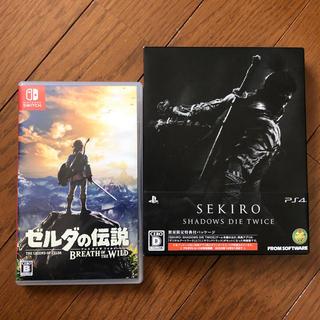 Nintendo Switch - ☺︎ゲームソフト☺︎ ゼルダの伝説・SEKIRO(PS4)セット売り