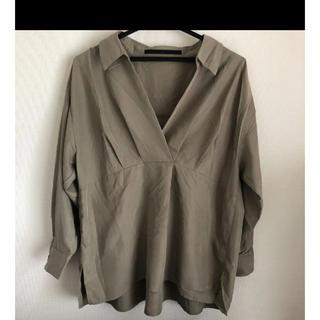 ケービーエフプラス(KBF+)のKBF+ スキッパーシャツ(シャツ/ブラウス(長袖/七分))