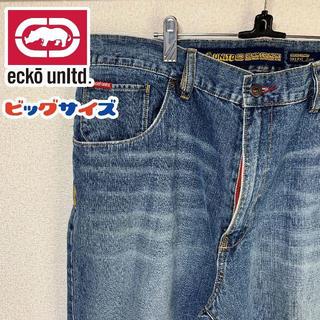 エコーアンリミテッド(ECKO UNLTD)のリメイク 90s ECKO UNLTD エコーアンリミテッド バギーパンツ 38(デニム/ジーンズ)