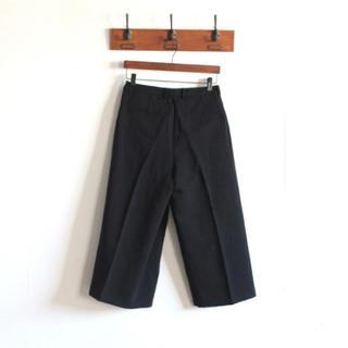 エヴァムエヴァ(evam eva)のevam eva   cotton linen twill wrap pants(カジュアルパンツ)