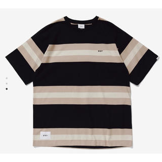 W)taps - wtaps 20ss vatos ss L バトス ボーダー Tシャツ