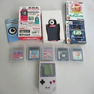 ゲームボーイ - ゲームボーイポケット本体+ソフト5種+カメラ