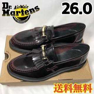 ドクターマーチン(Dr.Martens)の【新品】ドクターマーチン スナッフル ローファー チェリーレッド 26.0(ドレス/ビジネス)