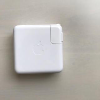 マック(Mac (Apple))のApple 61W USB-C 電源アダプタ(PC周辺機器)
