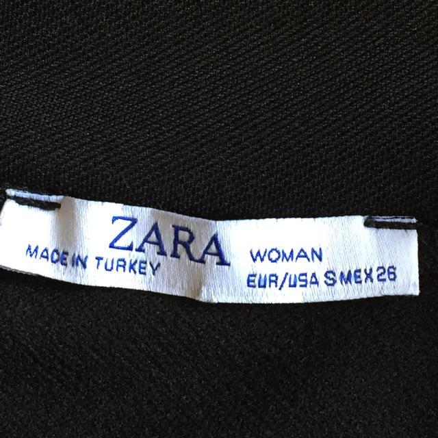 ZARA(ザラ)のZARA ジャージーワンピース レディースのワンピース(ひざ丈ワンピース)の商品写真