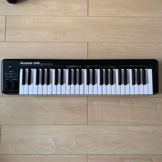 【動作確認のみ】ALESIS Q49 MIDIキーボード(MIDIコントローラー)
