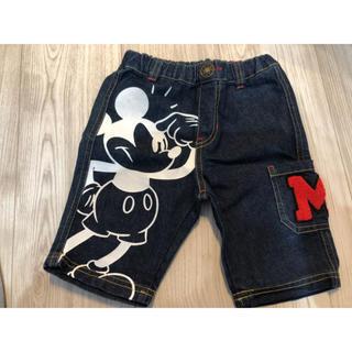ディズニー(Disney)のディズニー ミッキー ハーフパンツ 100サイズ(パンツ/スパッツ)