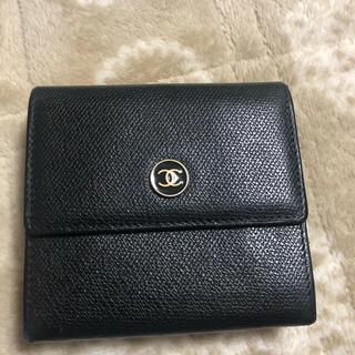CHANEL - シャネル ココマーク 二つ折り財布