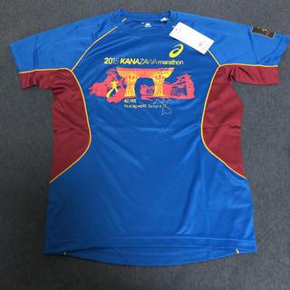 アシックス(asics)の【新品未使用】金沢マラソン2015 参加者限定 アシックス Tシャツ Sサイズ(Tシャツ(半袖/袖なし))