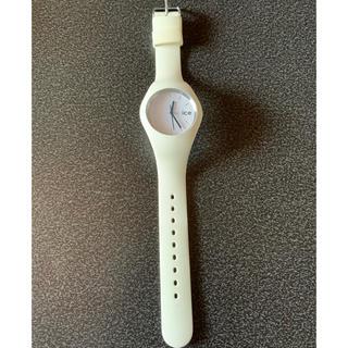 アイスウォッチ(ice watch)のice watch  白(腕時計(アナログ))