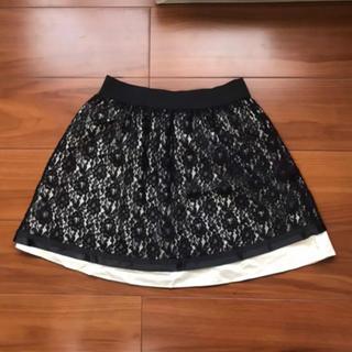 ウィルセレクション(WILLSELECTION)のウィルセレクション レース スカート(ひざ丈スカート)