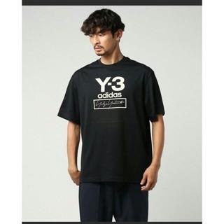 Yohji Yamamoto - 新品 2019AW Y3 ワイスリー ロゴ Tシャツ 黒M