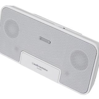 オーディオテクニカ(audio-technica)のオーディオテクニカルスピーカー白(スピーカー)