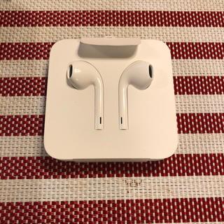 アップル(Apple)の新品アップル純正 イヤホン iPhone 8 付属品(ヘッドフォン/イヤフォン)