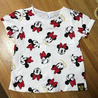 ディズニー(Disney)のディズニー ミニー Tシャツ 半袖 110(Tシャツ/カットソー)
