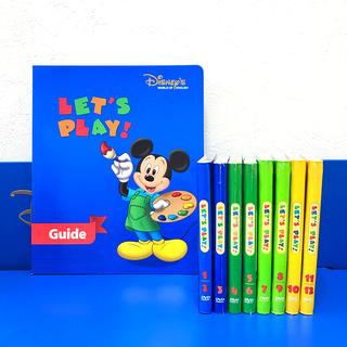 ディズニー(Disney)の【美品】レッツプレイDVD ディズニー英語 DWE(キッズ/ファミリー)