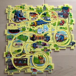 🌚トーマスランド限定 パズルマップ(電車のおもちゃ/車)