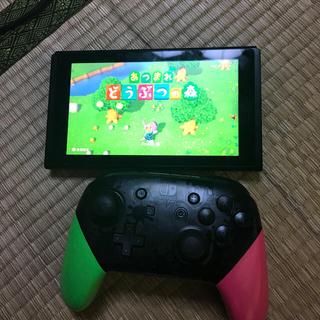 Nintendo Switch - Nintendo Switch本体とプロコンとあつまれどうぶつの森