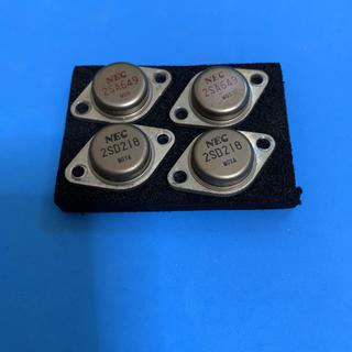 希少品 NEC 2SA649 2SD218 トランジスタ(アンプ)