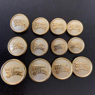 BURBERRY - バーバリー メタルボタン 12個