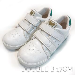 ダブルビー(DOUBLE.B)のダブルビー ホワイト スニーカー 17(スニーカー)