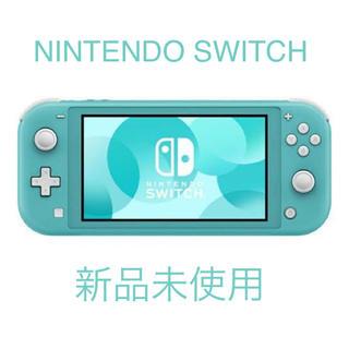 ニンテンドースイッチ(Nintendo Switch)のニンテンドー switch 新品未使用 ターコイズ(携帯用ゲーム機本体)