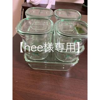 【hee様専用】iwaki耐熱ガラス保存容器システムセット(容器)