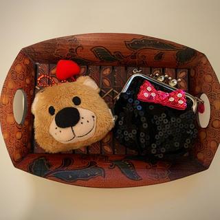 ディズニー(Disney)の【2点セット】Suzy Zooミニポーチ&Mickeyミニがま口ポーチ(キャラクターグッズ)